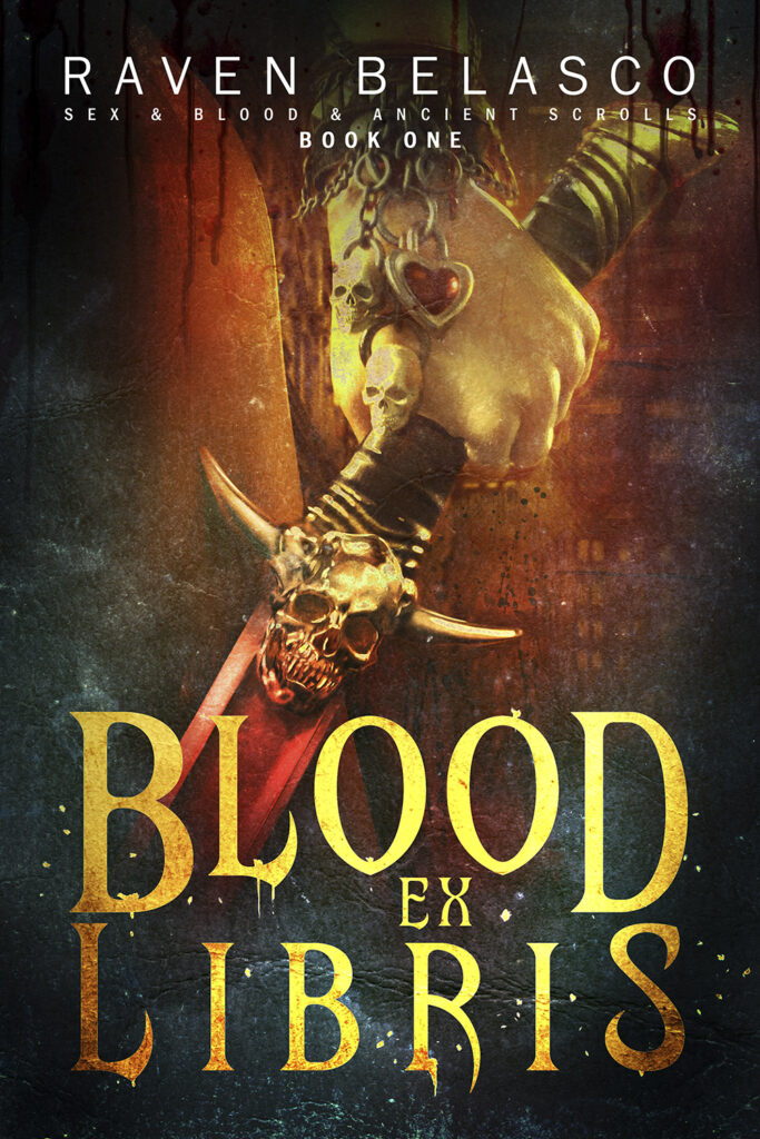 Blood Ex Libris by Raven Belasco
